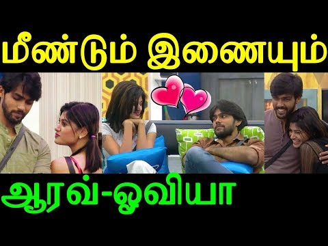 Bigg Boss Aarav and Oviya Going to join a hands