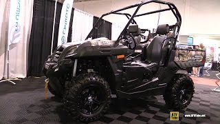 9. 2016 CFmoto UForce 800 EFI Utility ATV - Walkaround - 2015 Toronto ATV Show