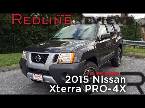 2015 Nissan Xterra PRO-4X Review, Walkaround, Exhaust, & Test Drive