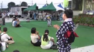 羽黒H28夏祭り2・広瀬まりオンステージ