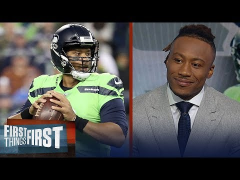 Russell Wilson is the X-Factor for the Seahawks — Brandon Marshall   NFL   FIRST THINGS FIRST