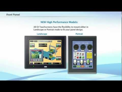 High Performance Series OI Touchscreens