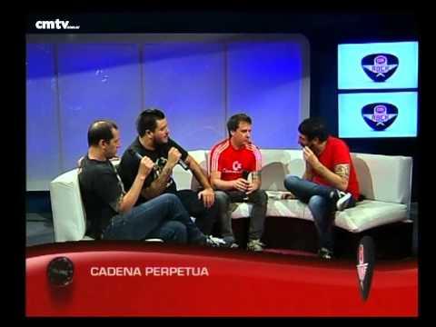 Cadena Perpetua video Entrevista CM Rock - Diciembre 2014