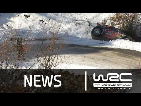 Vídeo resumen tramos 11 y 12 WRC Rallye Montecarlo 2015