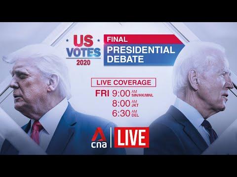 US election 2020: Final presidential debate between Trump and Biden