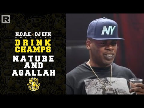 Nature & Agallah On The Firm With Nas, The Iconic DJ Clue Tapes, GTA III And More    Drink Champs