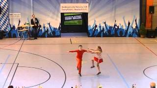 Natalia Schwarz & Dominik Schwarz - Nordbayerische Meisterschaft 2015