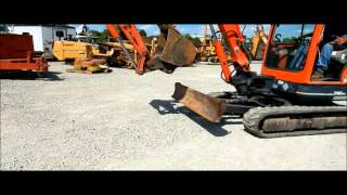 8. 2007 Kubota KX91-3 compact excavator for sale | sold at auction October 8, 2015