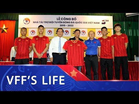BE GROUP trở thành Nhà tài trợ ĐTQG Việt Nam trong 3 năm liên tiếp