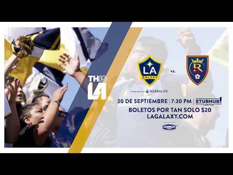 Video: LA Galaxy contra Real Salt Lake | Ven a ver el espectáculo