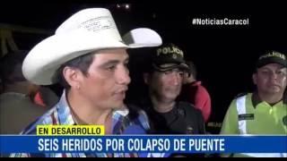 COLAPSÓ EL PUENTE DEL CHARTE