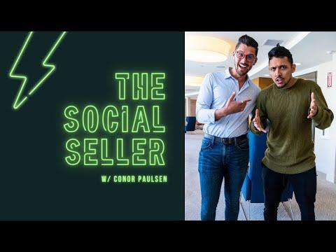 The Social Seller w Conor Paulsen | Episode 5 - Oscar DeGarza: Meet the Creators Behind the Podcast
