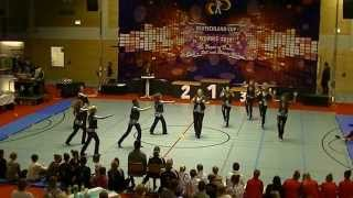 Funky Power - Deutschland-Cup Formationen 2014