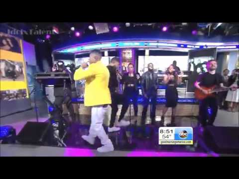 EMPIRE  Jussie Smollett & Yazz Perform  'You're So Beautiful' GMA VIDEO