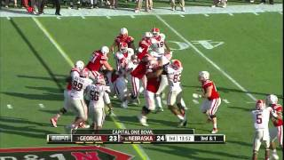 Jarvis Jones vs Nebraska (2012 Bowl)