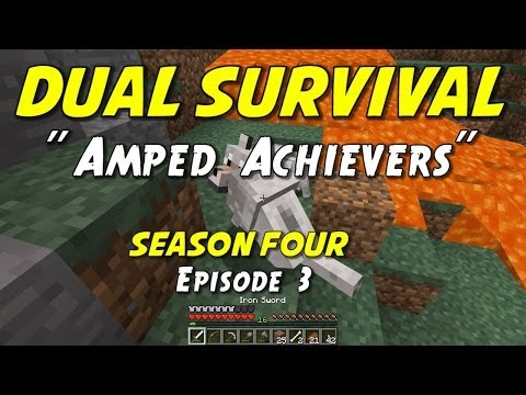 minecraft survival - Ironman co-op survival challenge with my son, JumboMuffin, on an amplified world! Our goal is to survive and collect as many achievements as we can until one...