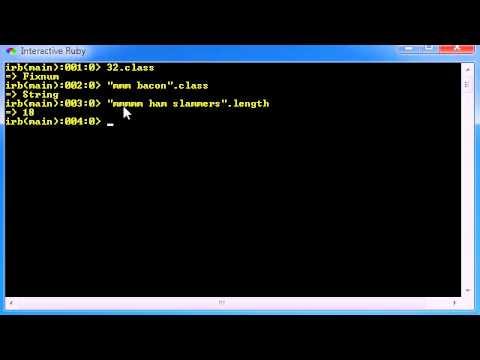 Ruby Programming Tutorial - 11 - String Functions