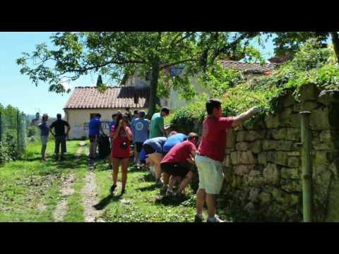 Allarme degrado al Colle del Pionta: giardino infestato dalle siringhe