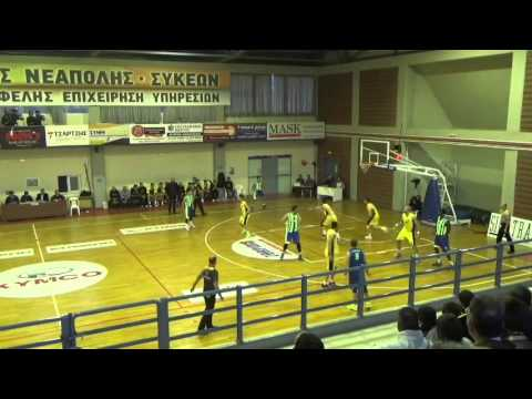 Machites Pefka-Peristeri 71-61 (No8 yellow, 19p., 5r., 2as., 2st)