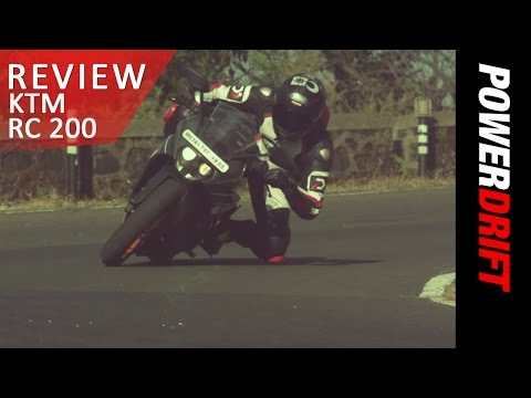 KTM RC 200 : Review : PowerDrift