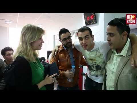 ACCUEIL D'AHMED CHAWKI ET L'EQUIPE SWITCHERS PAR MOMO SUR HIT RADIO