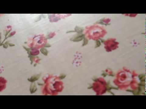Tovaglia cotone plastificato fiorellino
