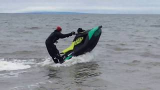 8. first ride on my brand new seadoo sparks trixx