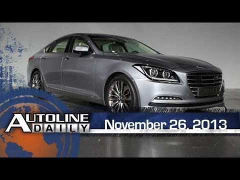 video all new 2015 hyundai genesis autoline daily 1266. Black Bedroom Furniture Sets. Home Design Ideas