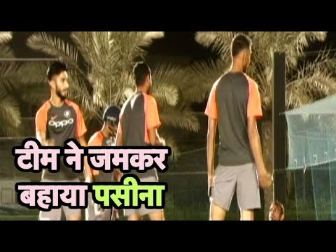 WATCH : Rohit Sharma Trying A New Shot In Practice Session | Sports Tak (видео)