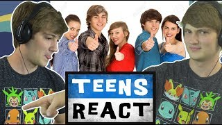 TheOdd1sOut Reacts to Teens React to TheOdd1sOut (Reaction)