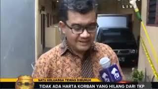 Download Video 1 Keluarga Tewas di Dalam Rumah, Tidak Ada Harta Korban yang Hilang MP3 3GP MP4