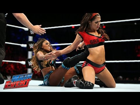 event - Brie Bella returns to action following the attack from Nikki Bella one night earlier on Raw.