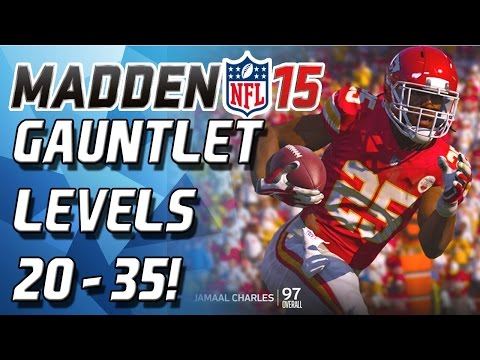 levels - Madden 15 - Madden 15 Gauntlet! This is my third or fourth time trying the Madden 15 Gauntlet! Enjoy! Can you beat my score? Let me know! ***Check Out CyberPowerPC!: http://goo.gl/NU5kBJ Use...
