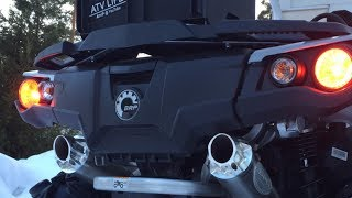 4. RJWC Dual Exhaust | Can-am Outlander 1000
