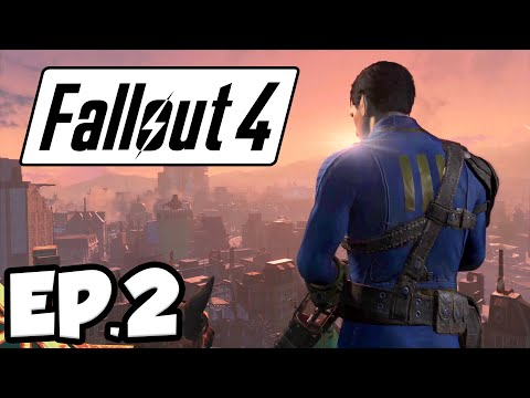 Fallout 4 Ep.2 - POWER ARMOR SUIT!!! (Gameplay)