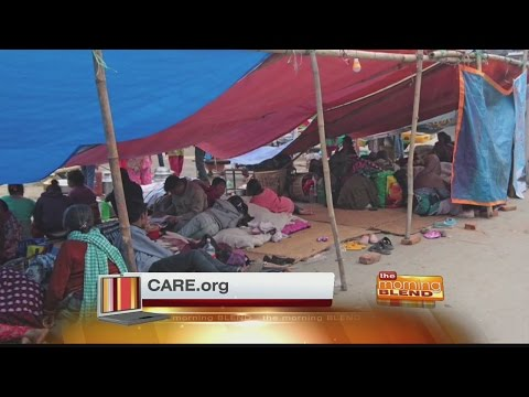 Care - Nepal earthquake relief efforts