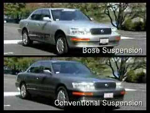 Suspensión activa para coches de Bose