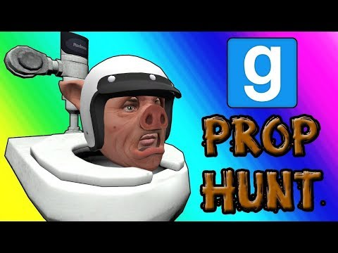 Gmod Prop Hunt Funny Moments - Panda Po-ops With Laughter (Garry's Mod) (Cursing) (видео)