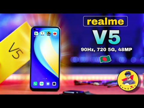 realme V5 Full Review In Bangla | 20K Budget best Phone?