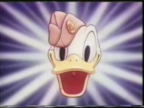 Donald Duck Goes to WAR: BANNED Racist Disney Cartoon - 1944