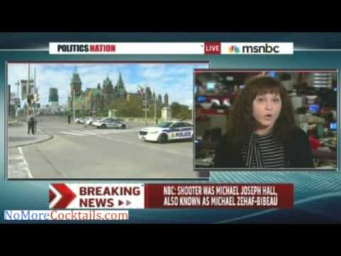 "latest - Opening up ""Politics Nation"" Wednesday night, Sharpton immediately went out to cover the situation in Ottawa, interviewing CBC reporter Chloe Fedio for latest news on the morning shooting..."