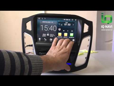 Обзор магнитолы в Андроиде IQ NAVI D44-1910 Ford Focus III (2011+)