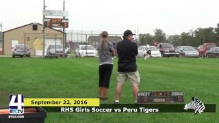 RHS Girls Soccer vs Peru Tigers