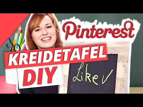 DIY Pinterest Kreidetafel  | DIY or DI-Don't w/ YouandIHeartDIY