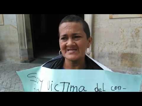 """""""He acudido a todas las entidades gubernamentales, pero nadie me ha querido escuchar"""": Luz Nelly"""