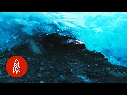 Exploring Alaska's Melting Glacier Ice Caves Before They're Gone