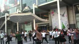 Flashmob in front of CTW, 25 jan 