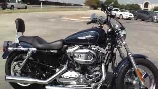 8. 420371 - 2012 Harley Davidson Sportster 1200 Custom XL1200C - Used Motorcycle For Sale