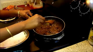 Tamarind Rice / Puli sadam / Puliyodharai ,புளி சாதம்
