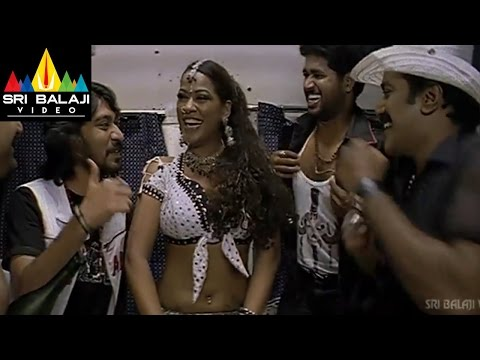 Maissamma IPS Movie Mumaith Khan Action Scene In Train | Prabhakar | Sri Balaji Video